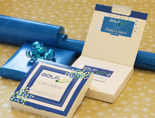 Les cartes cadeaux GOLF UP : pour le plaisir d'offrir !